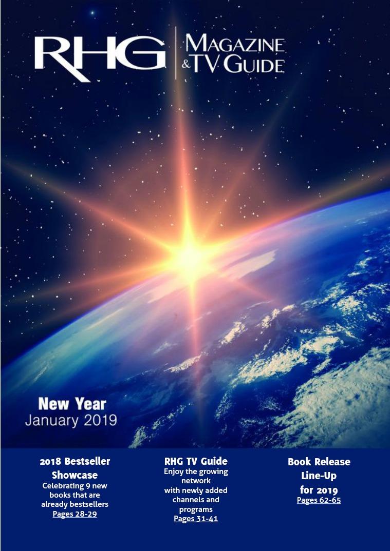 RHG Magazine & TV Guide New Year 2019