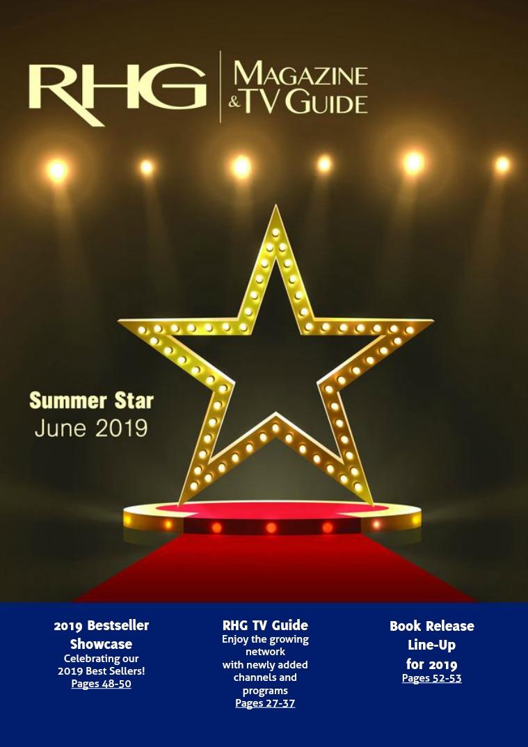 RHG Magazine & TV Guide Summer Star 2019