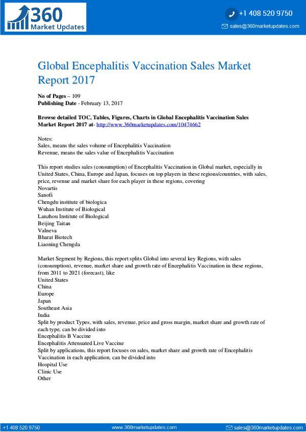 Encephalitis-Vaccination-Sales-Market-Report-2017