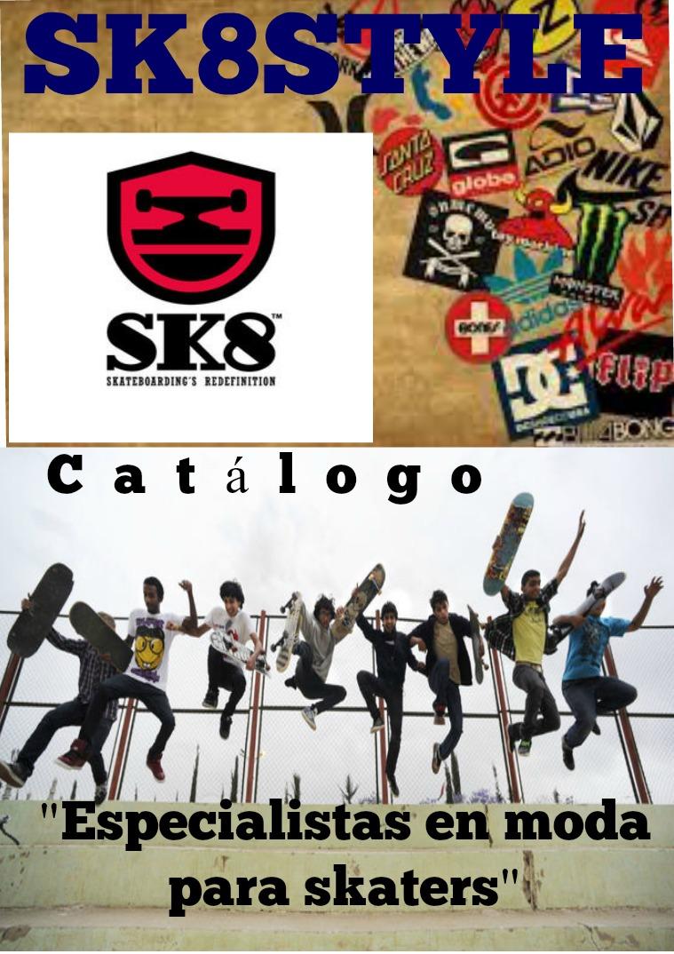 TIENDA SK8 SK8 STYLE CATÁLOGO 2017