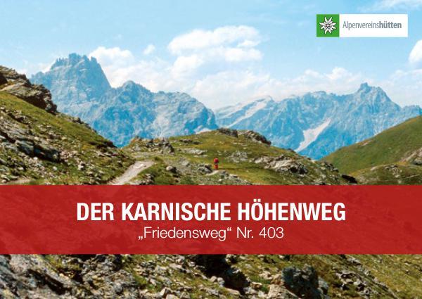 Der Karnische Höhenweg KHW_Broschuere_2017