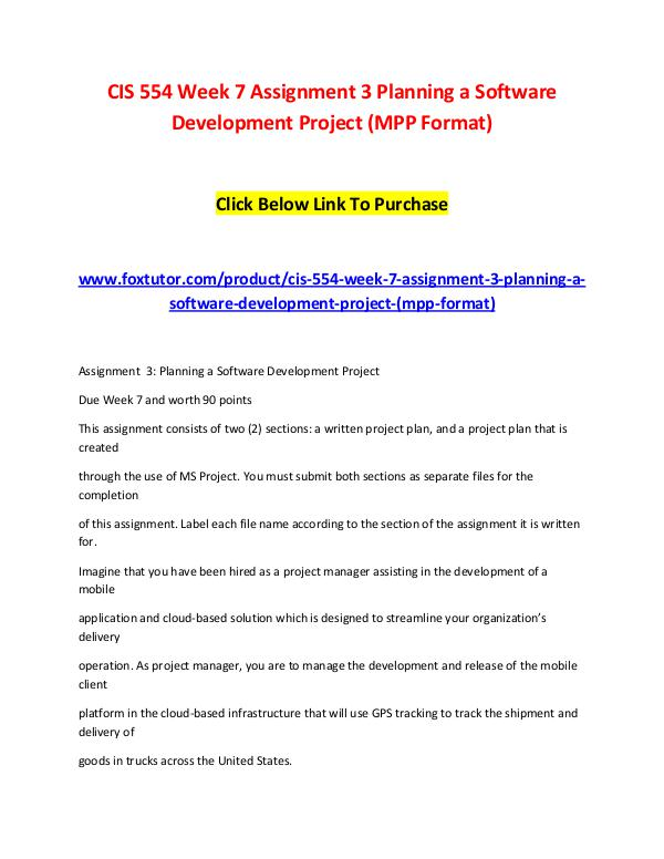 software development project planning