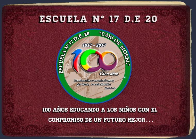 Álbum 100 años escuela 17 DE 20 1