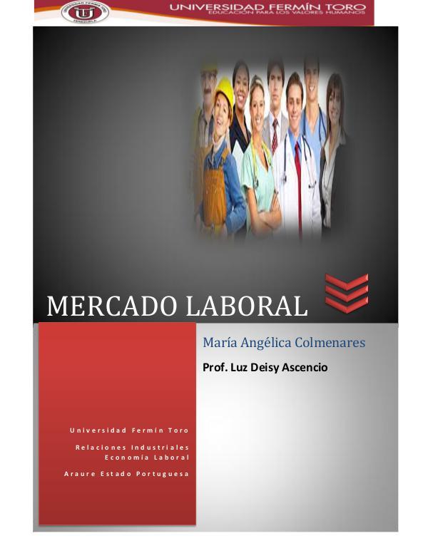 Mercado de trabajo Mercado laboral