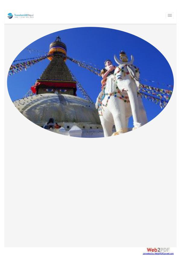 Luxury nepal tour blog