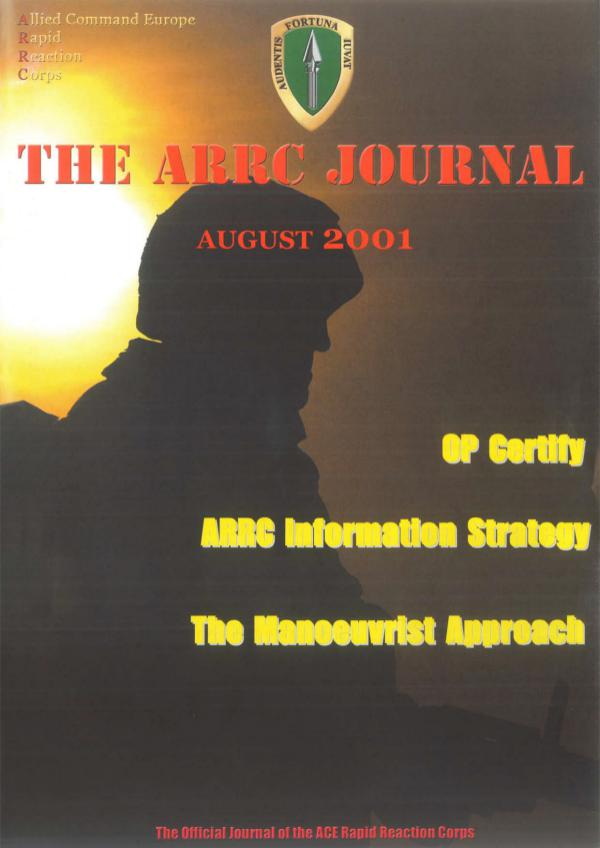 ARRC Journal August 2001