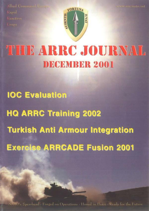 ARRC Journal December 2001
