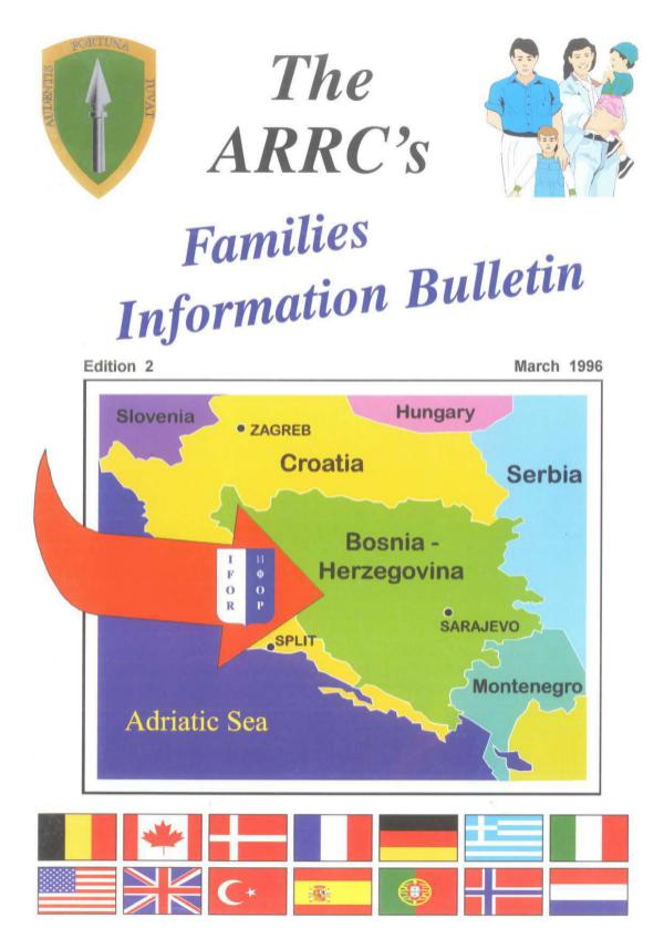 The ARRC'S Families Information Bulletin Bulletin - March 1996