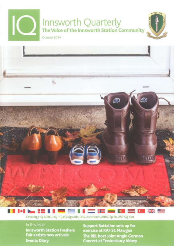 The 'ARRCive' Innsworth Quarterly - October 2014