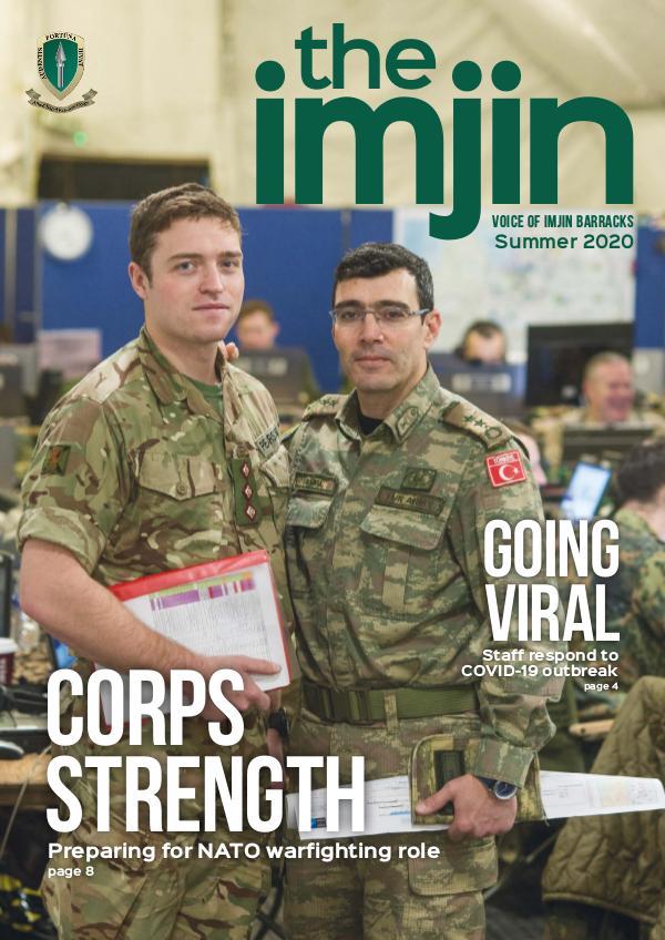 'the imjin' magazine Summer 2020