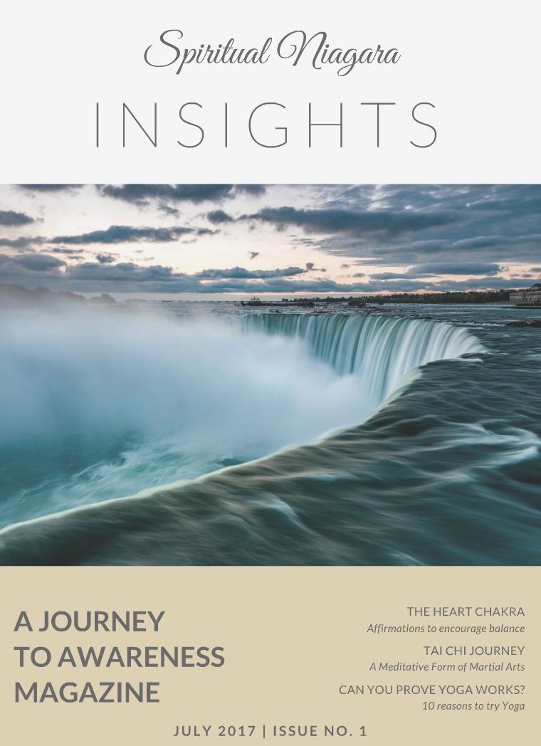 Spiritual Niagara Insights Issue 1 July 2017