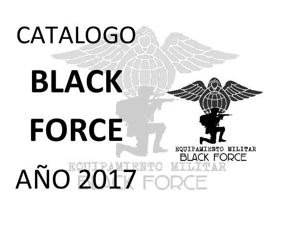 Catalogo BLACK FORCE CATALOGO BLACK FORCE