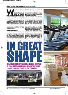 Freedom Leisure - BDC Magazine