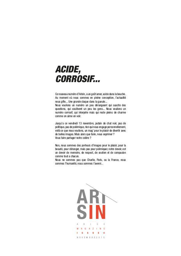 Aris'in - Le Magazine de l'Agence Arise Vol.04