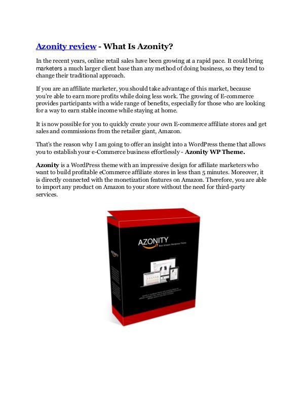 Marketing Azonity review and (FREE) Azonity $24,700 Bonus