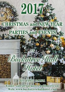 Buckatree Hall Hotel Christmas Brochure