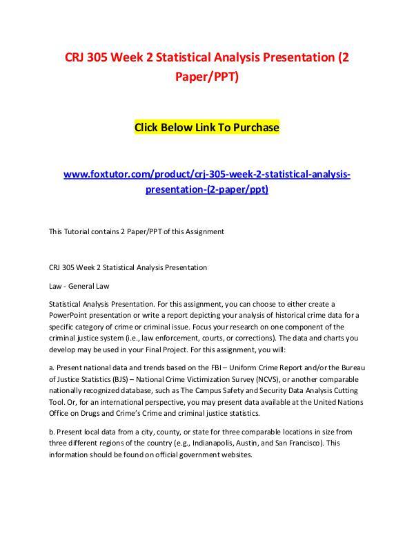 crime report data paper