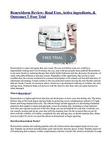 Renewiderm Review- Read Uses, Active ingredients, & Outcomes !!