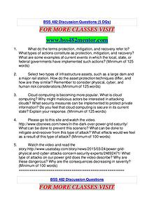 BSS 482 MENTOR Extraordinary Success /bss482mentor.com