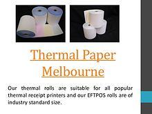 EFTPOS Paper Rolls Melbourne
