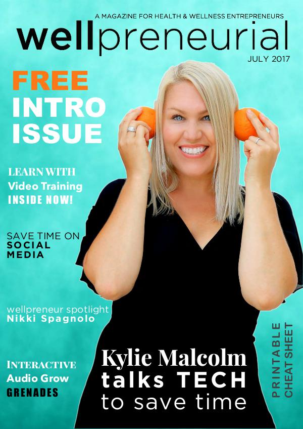 Wellpreneurial Magazine - Free Editions July 2017