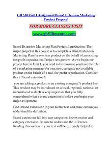 GB 530 MENTOR Extraordinary Success/gb530mentor.com