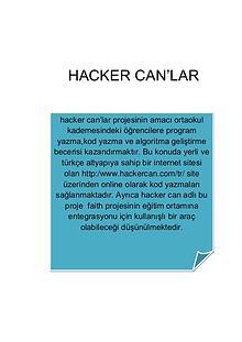 hacker can'lar