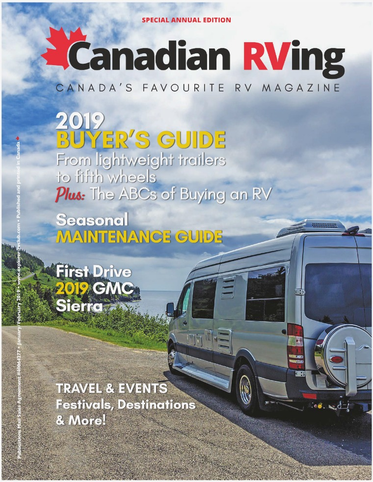Canadian RVing Special Annual Edition 2019