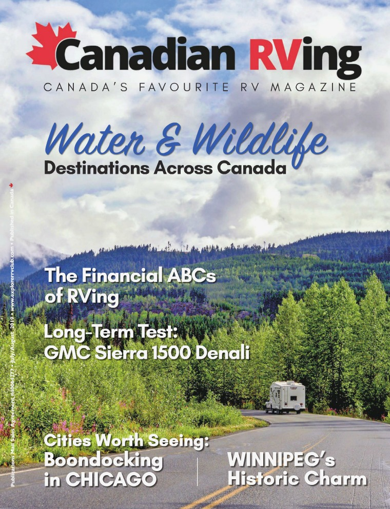 Canadian RVing July/August 2019