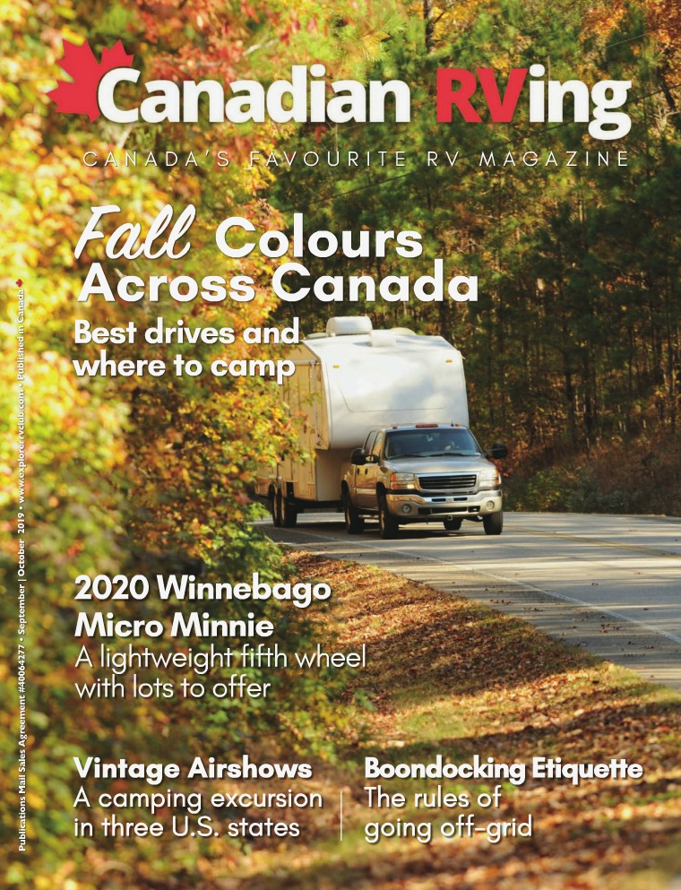 Canadian RVing September/October 2019
