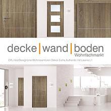dwb Wohnraumtüren CPL Holz Design Line mit Lisenen L1 Eiche Authentic