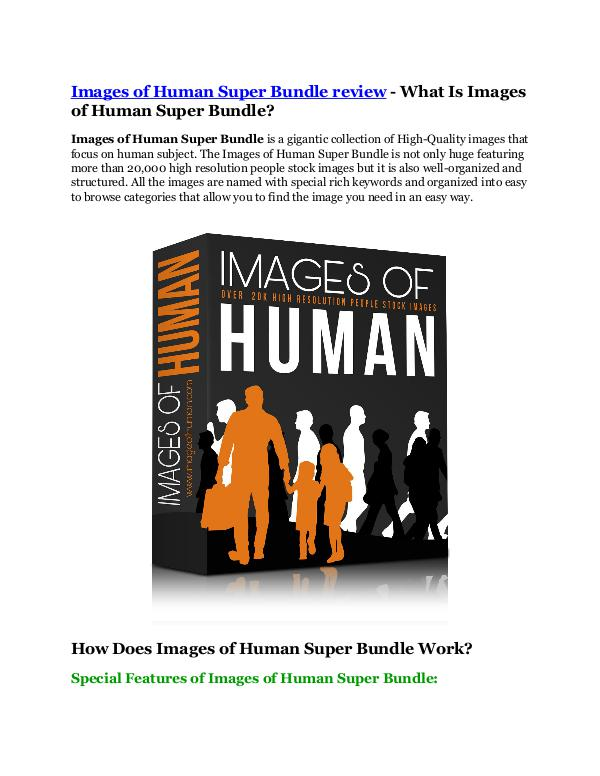 Images of Human Super Bundle review - MEGA $22,400