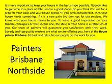 House Painters Brisbane