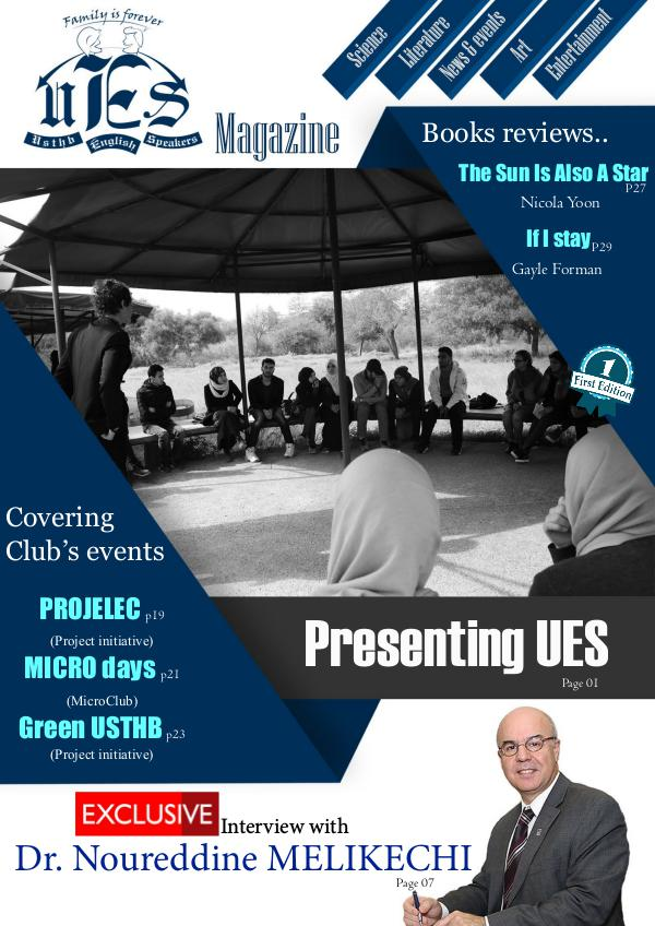 USTHB English Speakers Magazine USTHB English Speakers Magazine 1st Edition