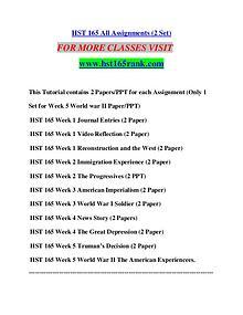 HST 165 RANK Extraordinary Success/hst165rank.com