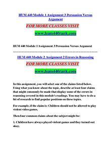 HUM 440 RANK Extraordinary Success/hum440rank.com