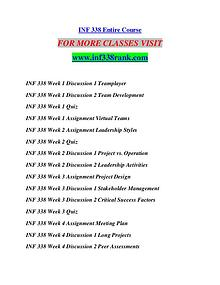 INF 338 RANK Extraordinary Success/inf338rank.com