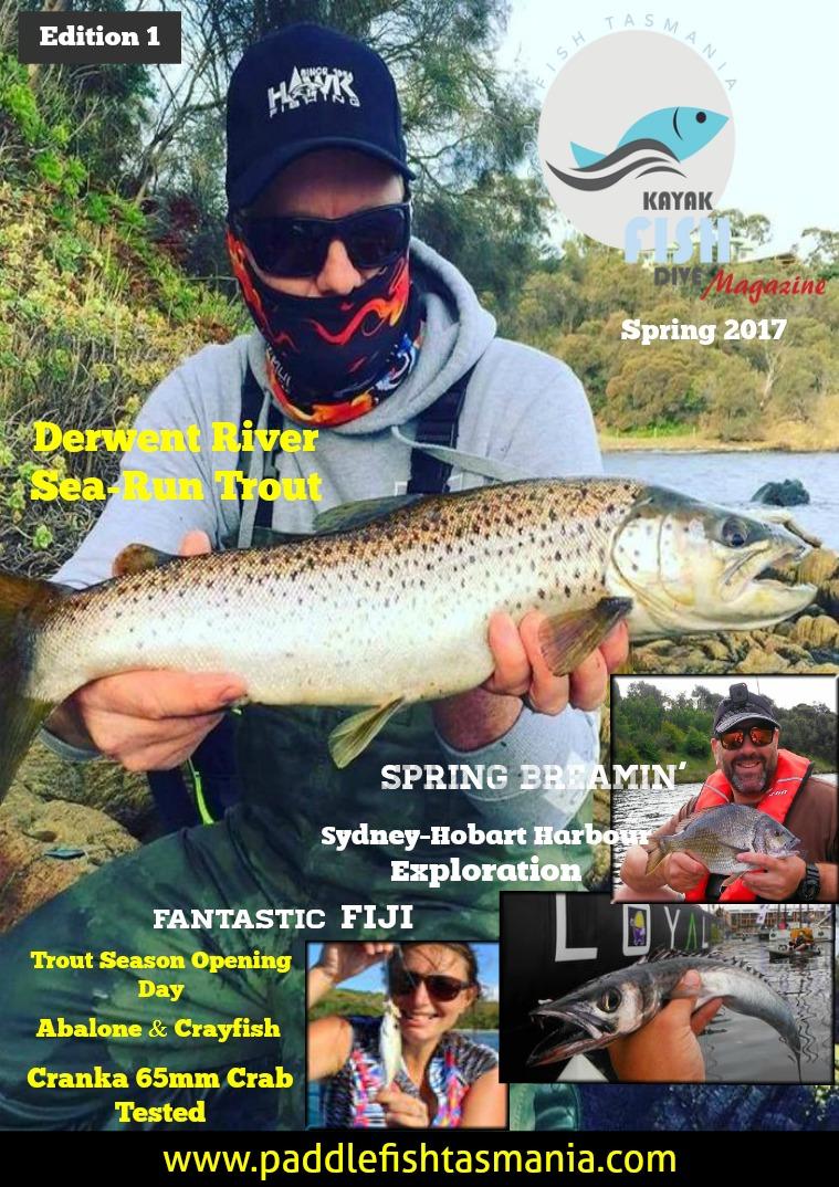 Paddlefish Tasmania (Kayak-Fish-Dive) Magazine Spring Edition 1