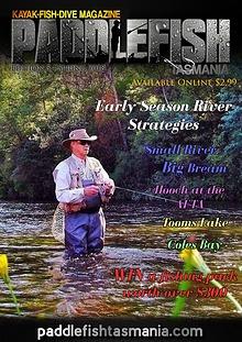 Paddlefish Tasmania (Kayak-Fish-Dive) Magazine