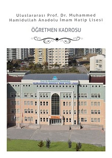 Uluslararası Prof. Dr. Muhammed Hamidullah Anadolu İmam Hatip Lisesi