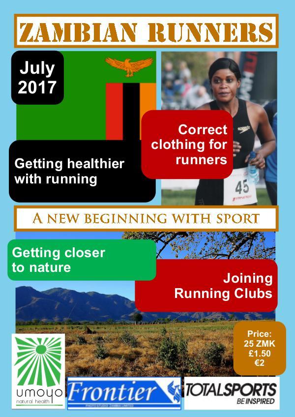Zambian Runners July 2017
