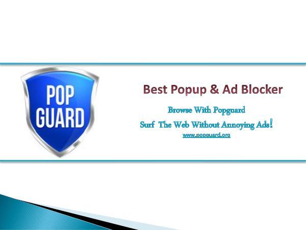 Pop Guard Pop Guard - Best Popup & Ad Blocker
