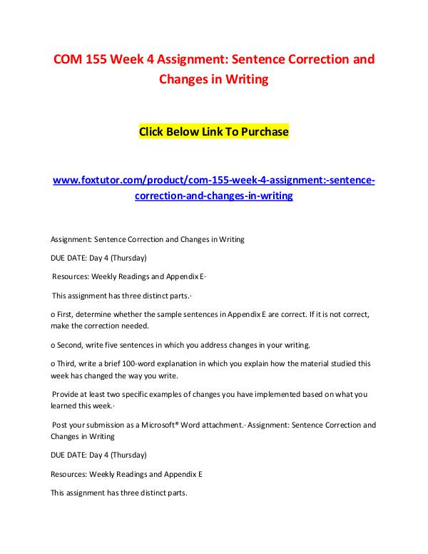 com 155 week 9 dq Week 9 dq 2: the introduction in this course of the publication manual of the american psychological association as a resource for writing was to increase your confidence when using it was that goal accomplished why or why not.