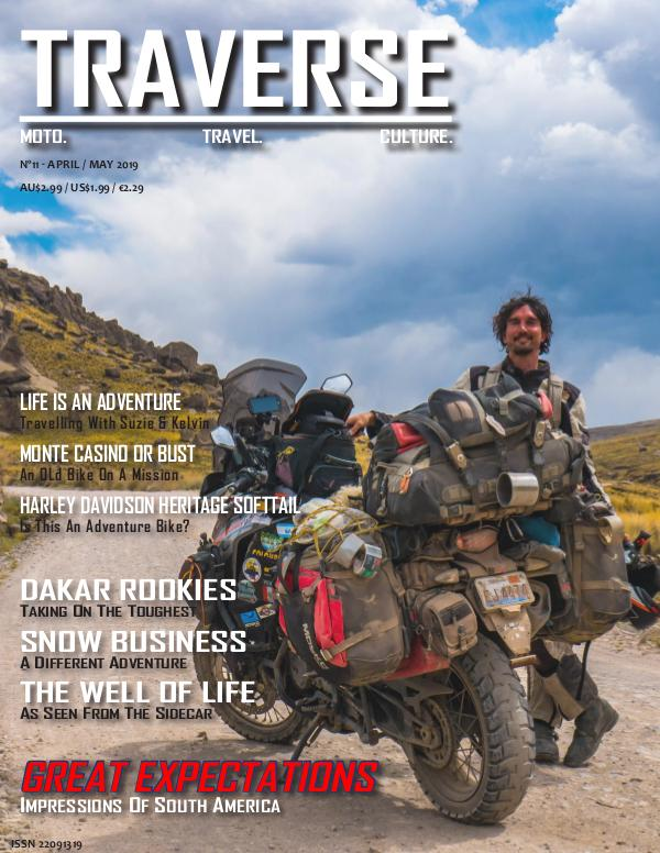 TRAVERSE Issue 11 - April 2019