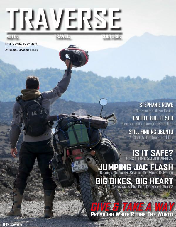 TRAVERSE Issue 12 - June 2019
