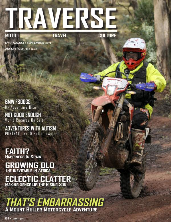 TRAVERSE Issue 13 - August 2019