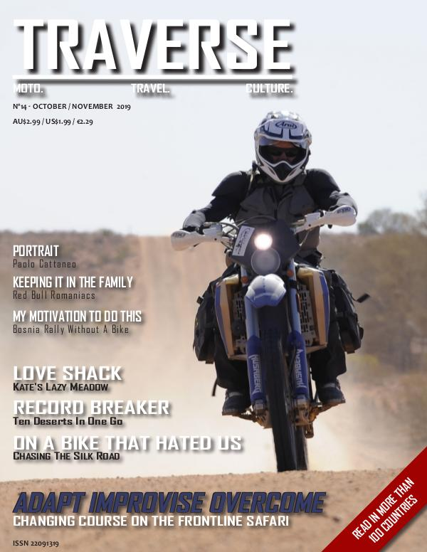 TRAVERSE Issue 14 - October 2019