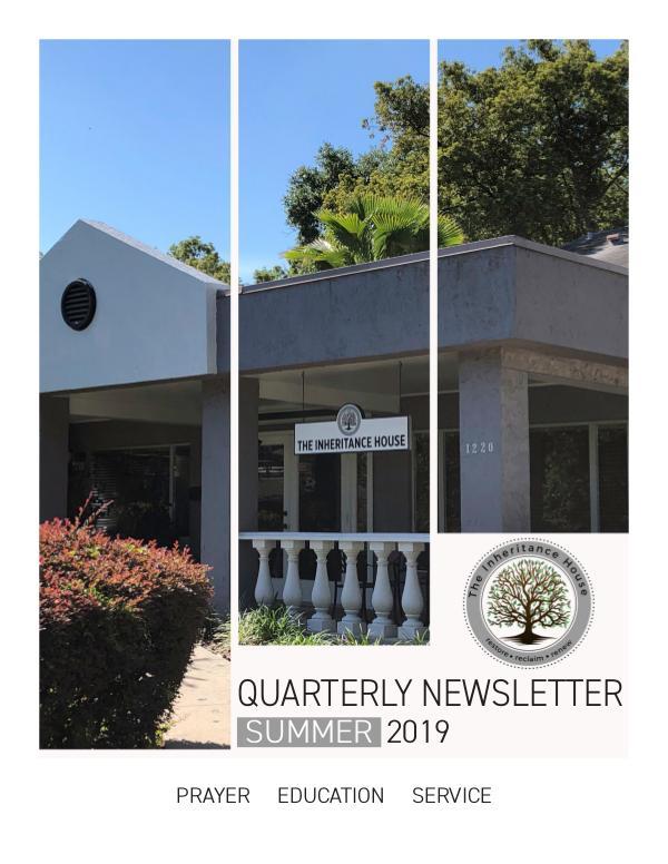 TIH Quarterly Newsletter Summer 2019