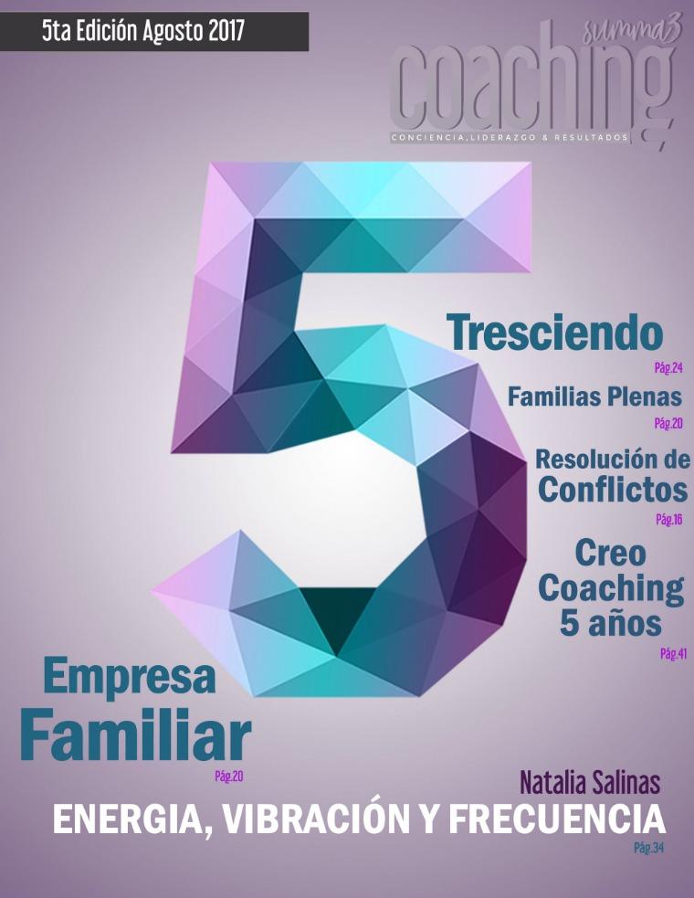 Summa Coaching 5ta Edición Summa Coaching 5ta Edición