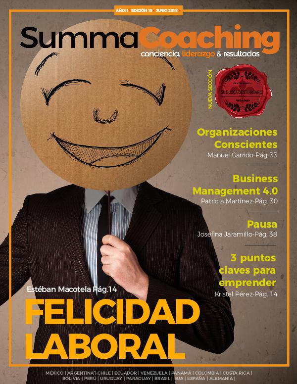 Summa Coaching Edición 15 Revista Summa Coaching Edición 15